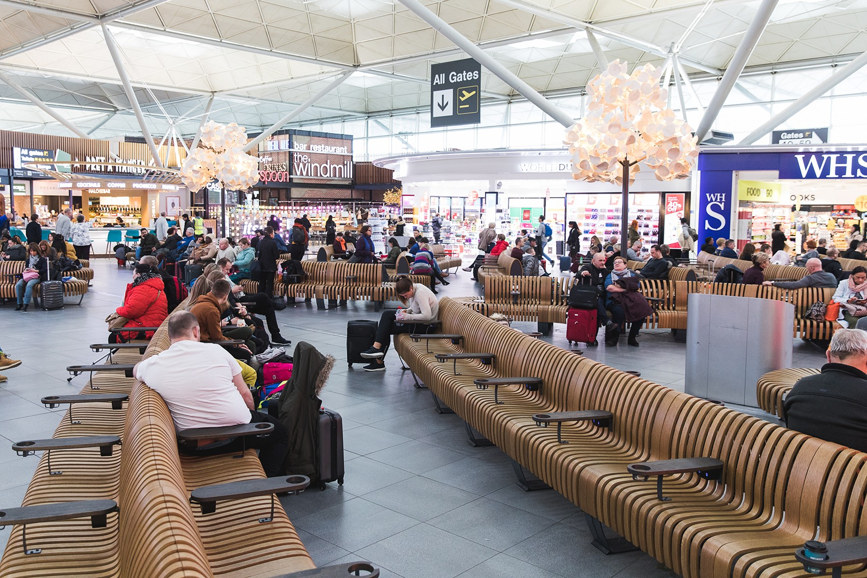 New seating Stansted
