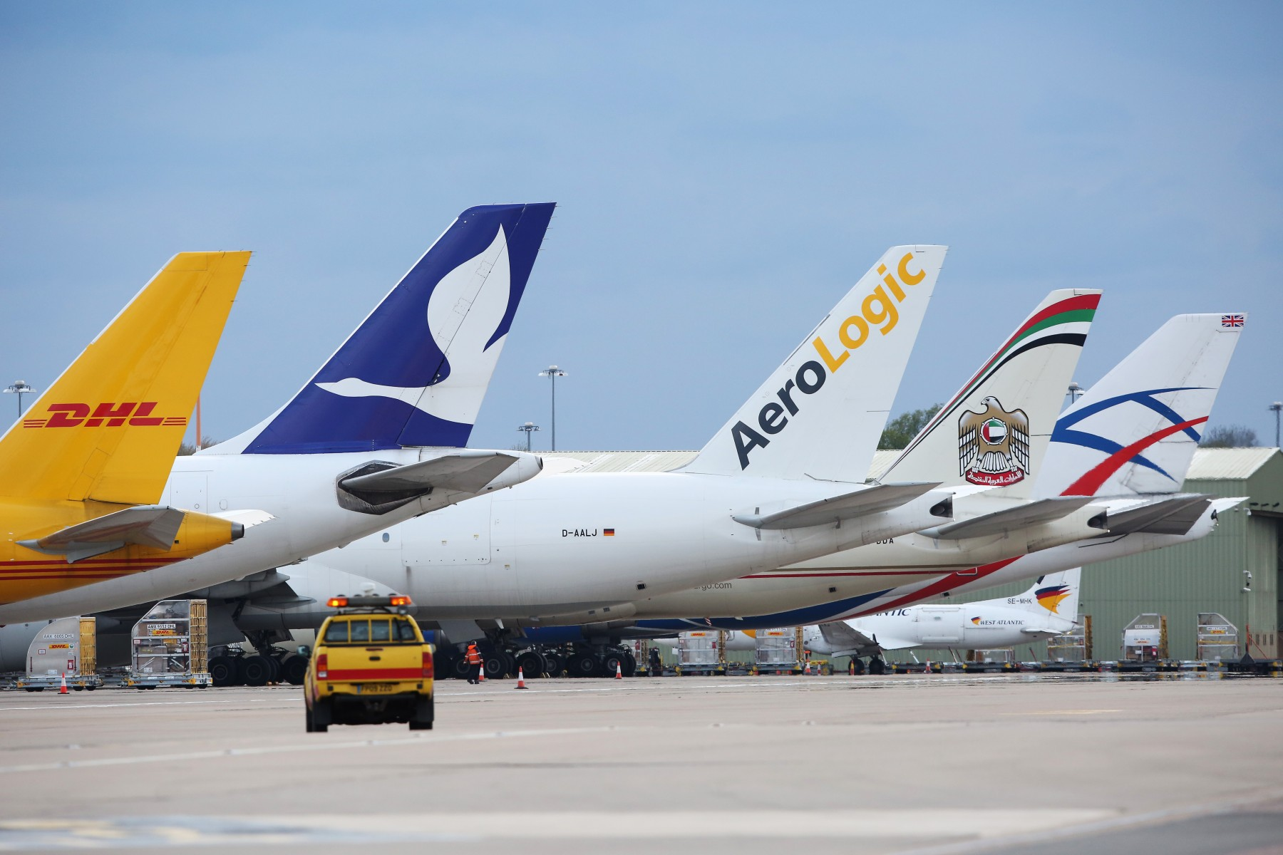 Record Levels Of Cargo At East Midlands Airport