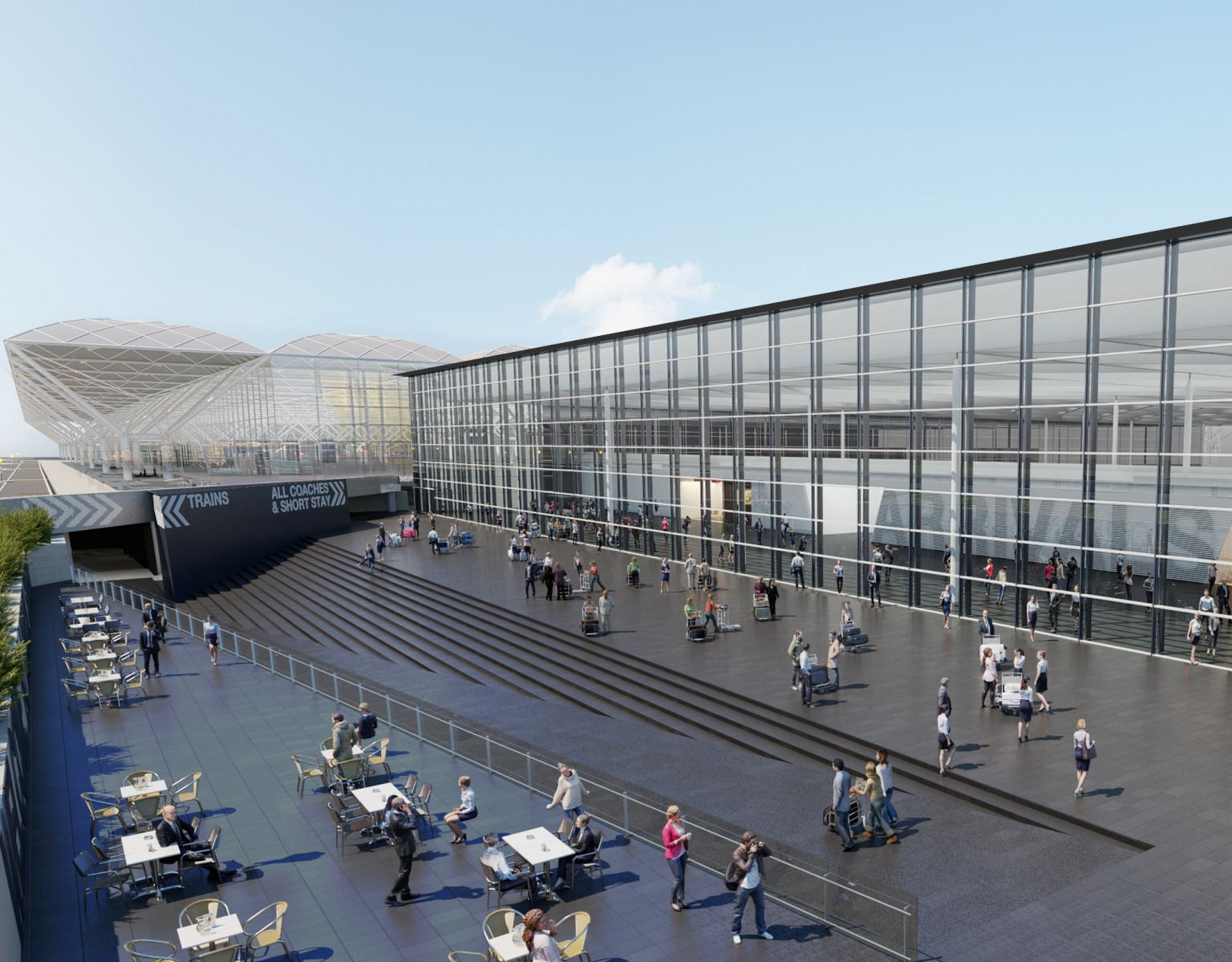 Stansted Airport Transformation image 1