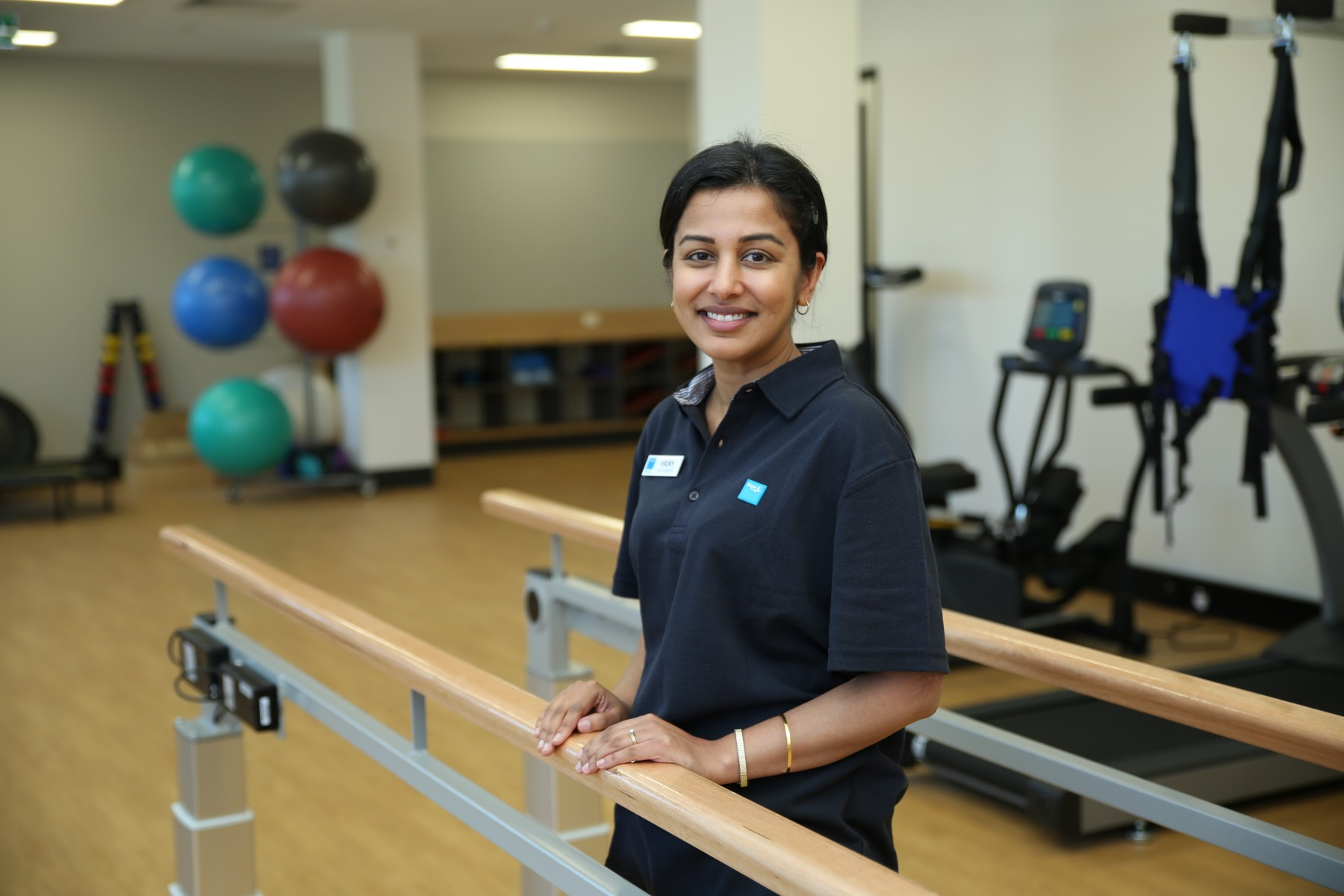 Vicky  Cook Physiotherapist Bupa Therapy Gym