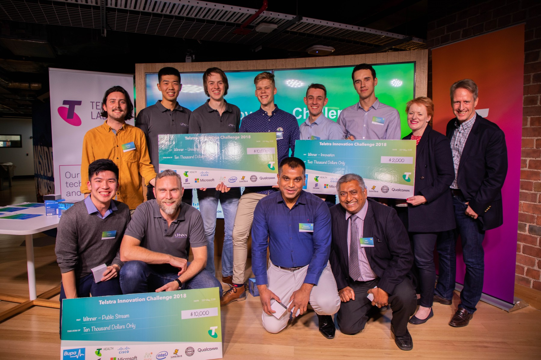 2018 Telstra Innovation Challenge Winners Bupa Partner