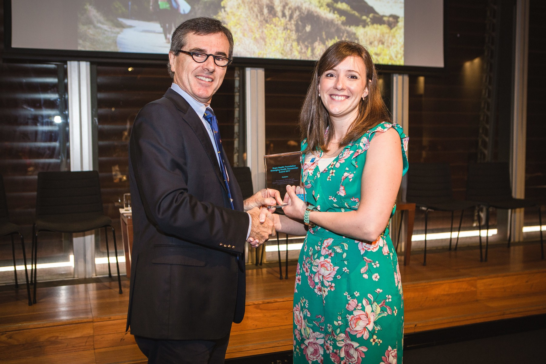 Amanda McCullough Bupa Health FoundationEmerging Health Researcher Winner