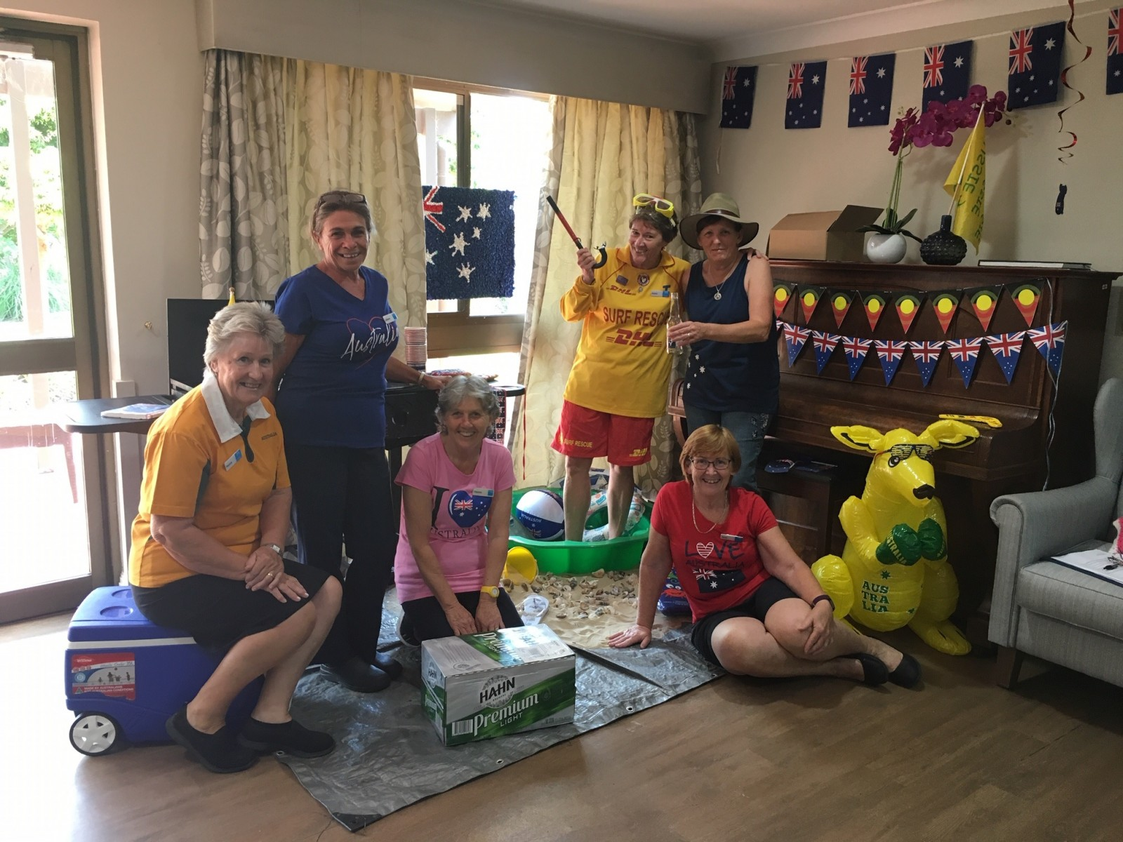 Kempsey residents and staff celebrate Australia Day!