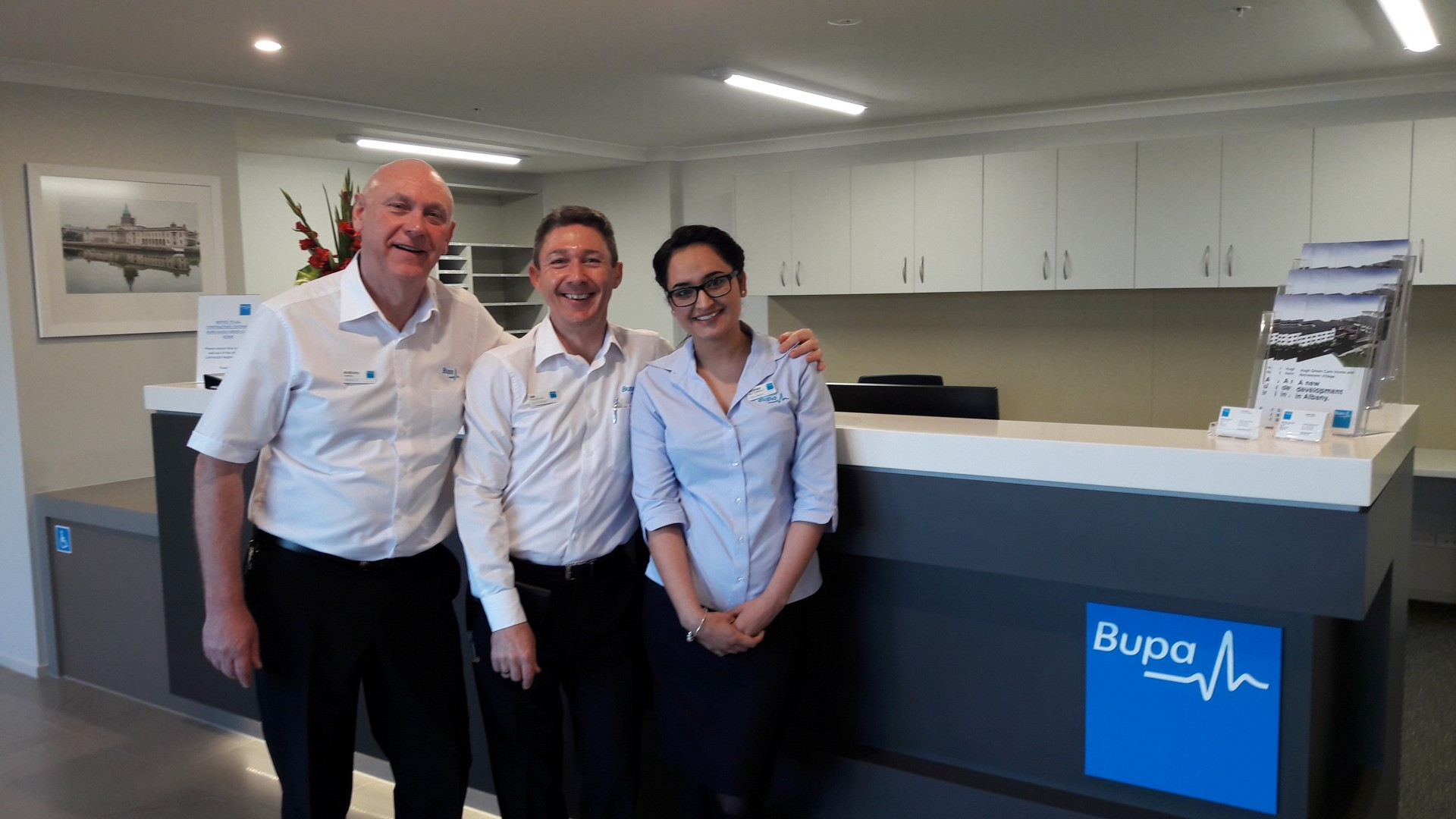 Bupa-New-Zealand-Care-Home-Hugh-Green-Team