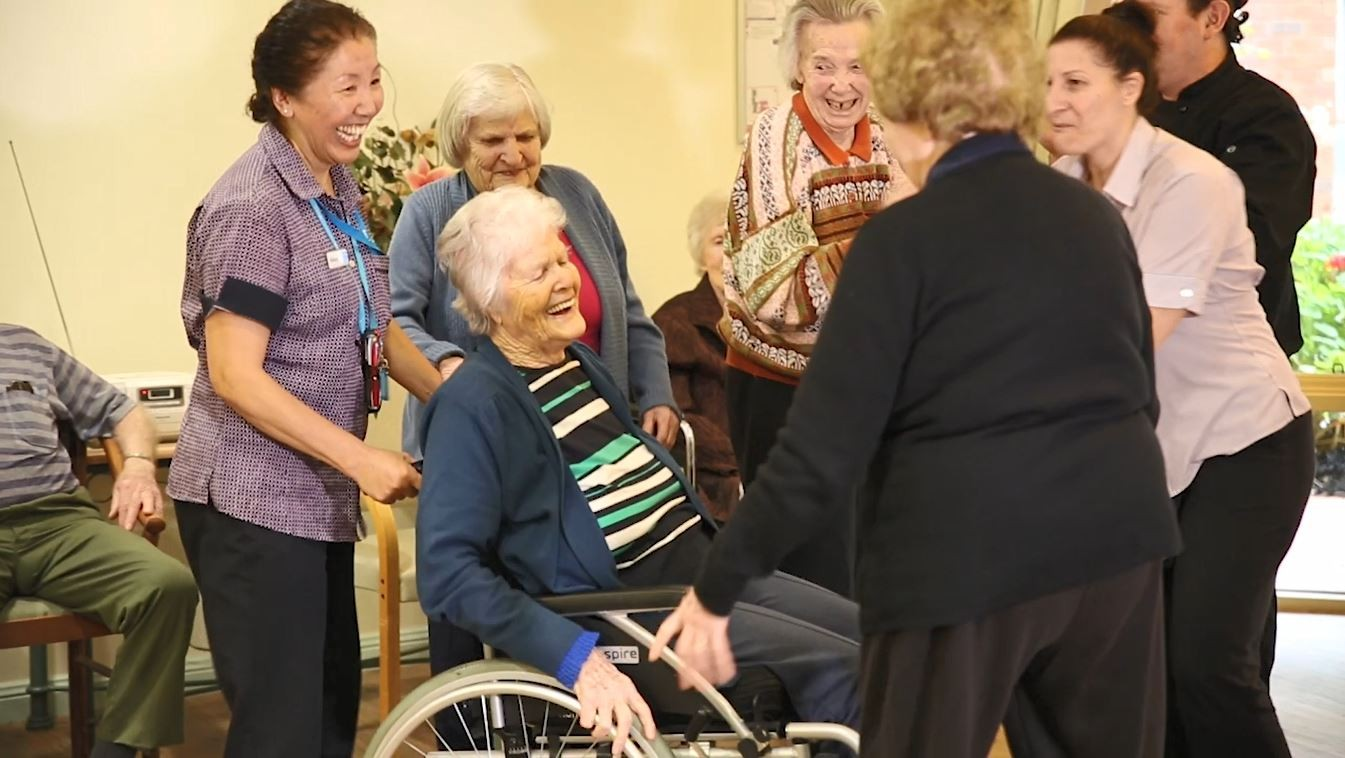 Bupa Donvale Dancing in Aged Care