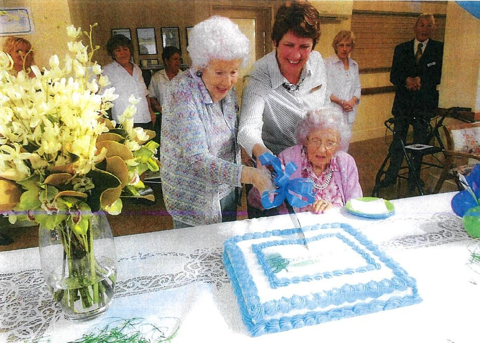 Wilhelmina becomes a supercentenarian, celebrating a birthday with Bupa.
