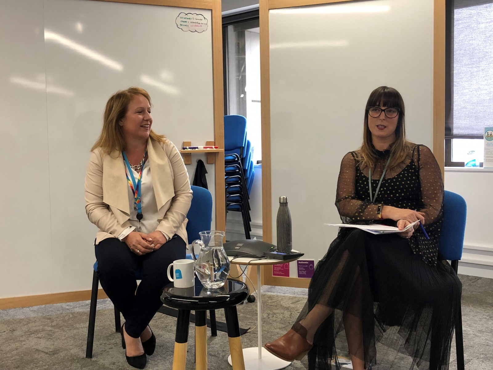 Networking Series with Bupa's Global Chief Customer and Corporate Affairs Officer, Alex Cole and Bupa's Head of Change and Capability, Stephanie Carman