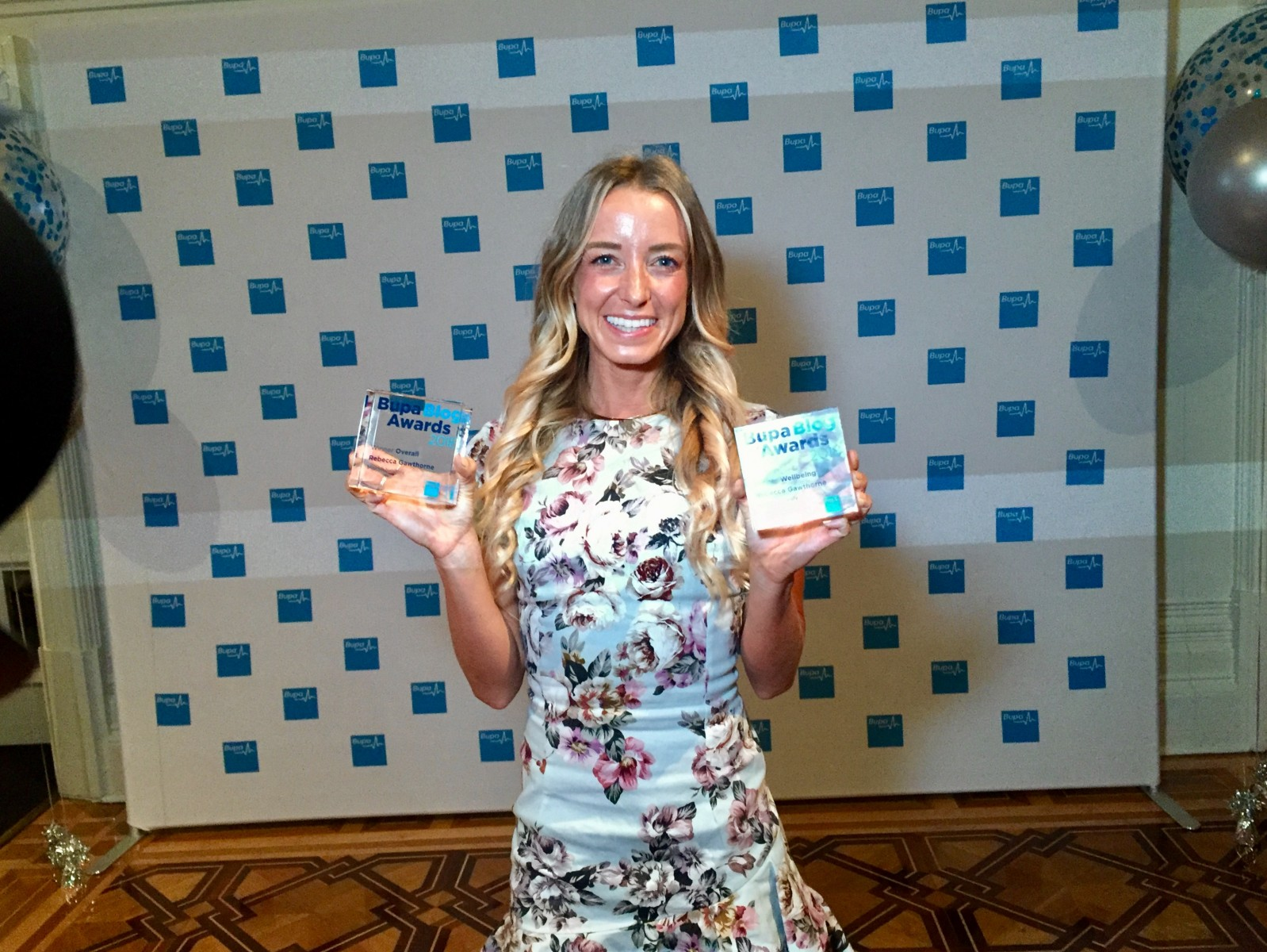 Rebecca Gawthorn Nourish Naturally Bupa Blog Awards 2018