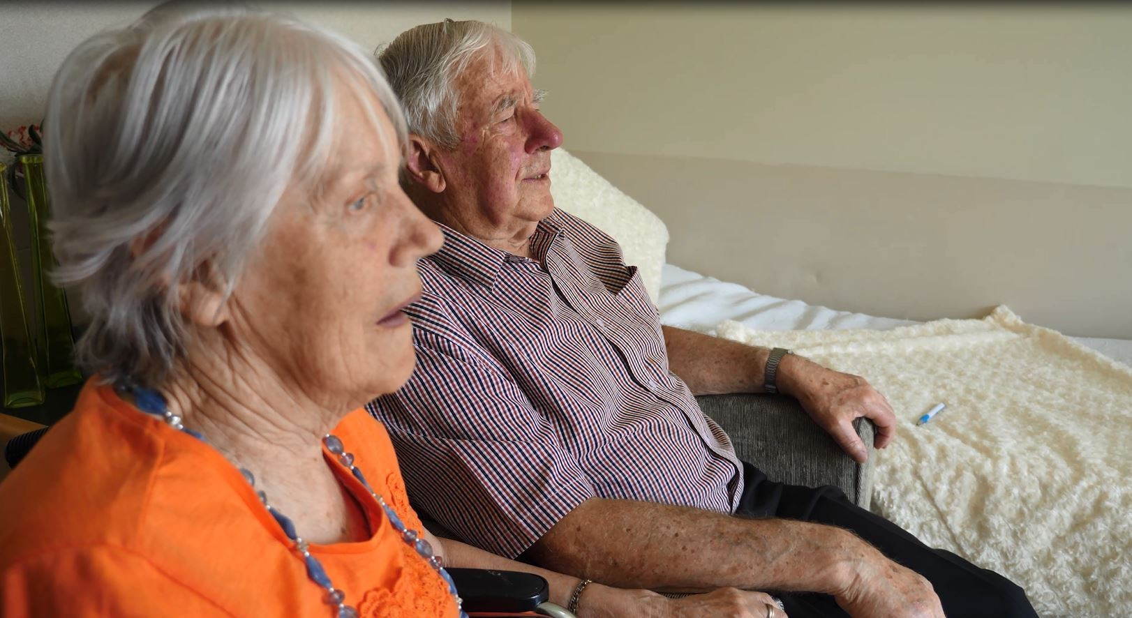 Tony and Marlene Couple Residents at Bupa Village and Aged Care Redwood