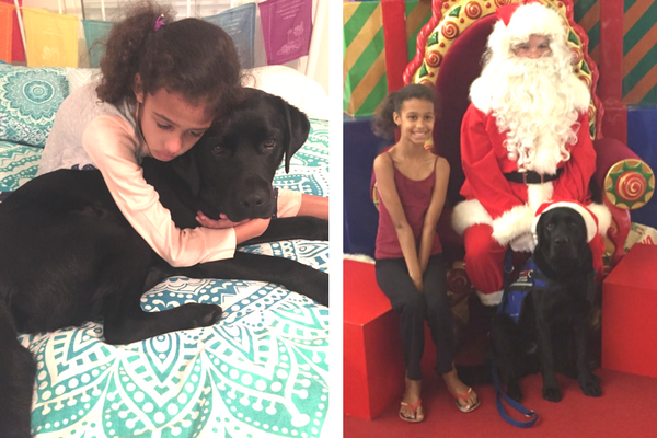 Autism Service Dog christmas