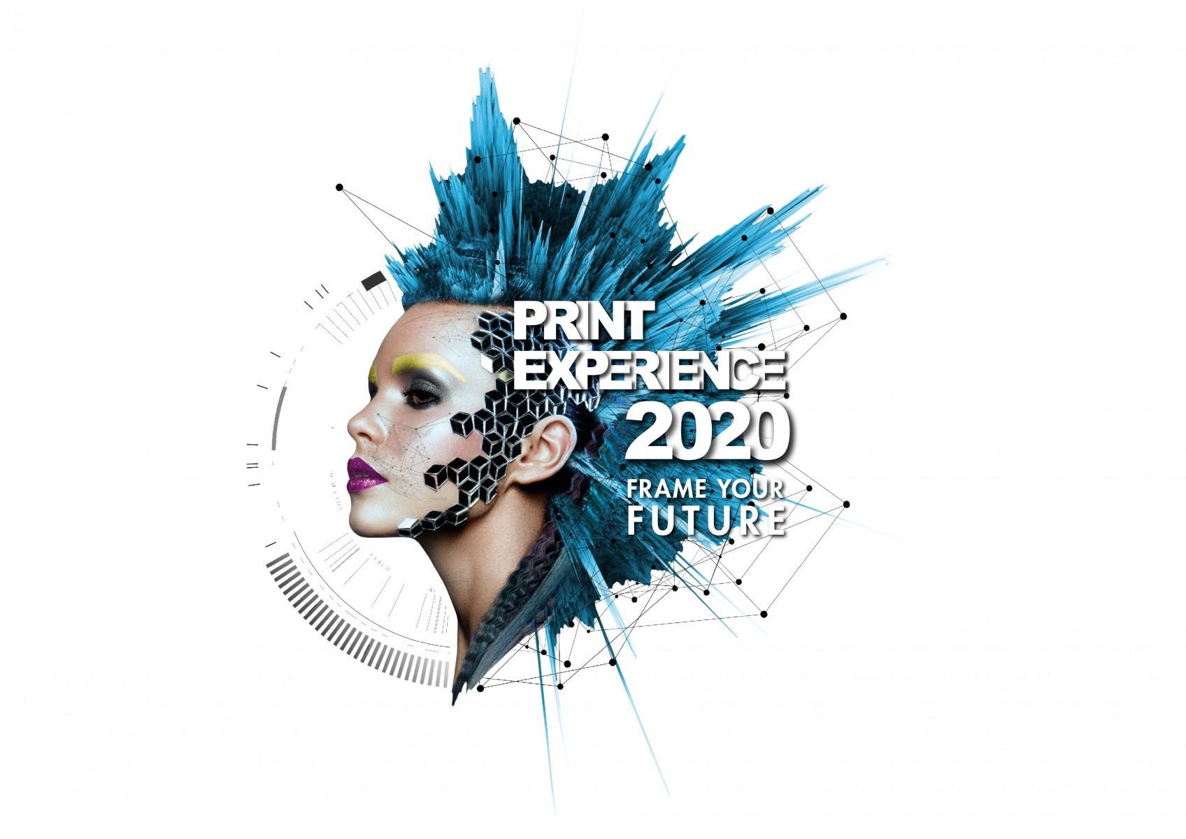 Key Visual Print Experience 2020 Frame your Future