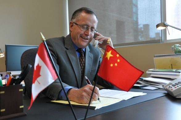 Gordon Houlden, director of the University of Alberta's China Institute