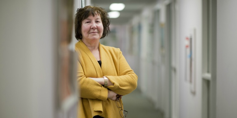 Janet Fast and a team of experts on aging supplied 15 years' worth of research to inform Alberta's Compassionate Care Leave Act, which took effect Feb. 1. (Photo: John Ulan)