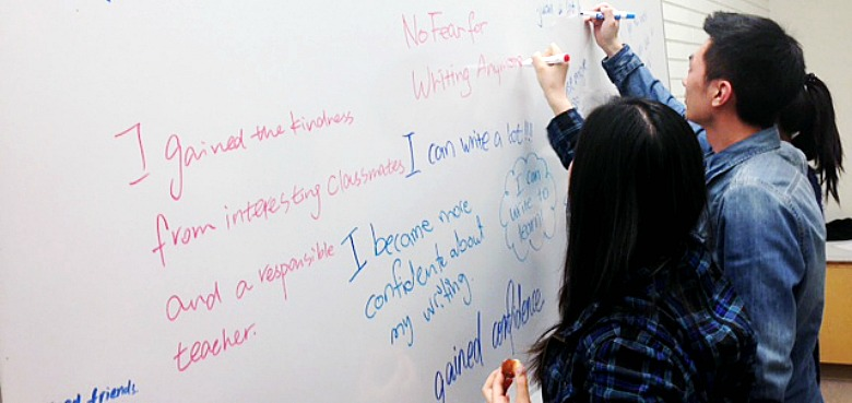 "Students in Writing Studies 101 learn through ""writing about writing"" and gain useful skills they can take to their other courses and their careers."