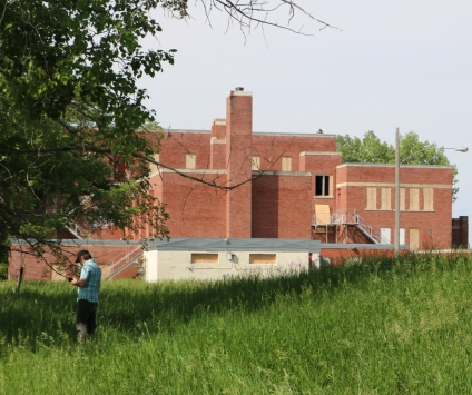 Working with the Muskowekwan First Nation, researchers pinpointed two areas likely containing unmarked graves of children who went missing from the former residential school. (Photo courtesy Kisha Supernant)
