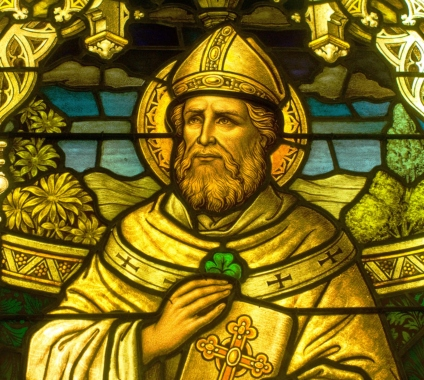 St. Patrick is associated with the shamrock because he is said to have used it to illustrate the Christian concept of the Trinity—one God in three beings. (Photo: Flickr, CC0 1.0)