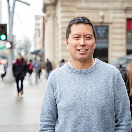 """I think there are a lot of people that think of Canada as an egalitarian country, but inequalities exist,"" said Roman Pabayo, who holds a Canada Research Chair at the U of A. (Photo: School of Public Health)"