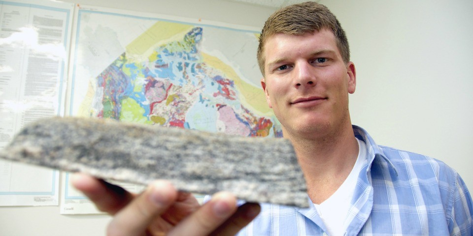 PhD student Jesse Reimink studied some of the oldest rocks on Earth to find out how the earliest continents formed.