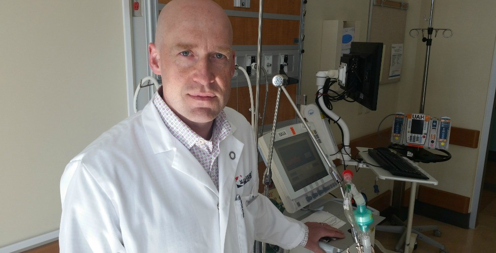 Sean Bagshaw's research revealed that frailty is common among critically ill adults in intensive care units, and may be a factor in why they became critically ill in the first place.