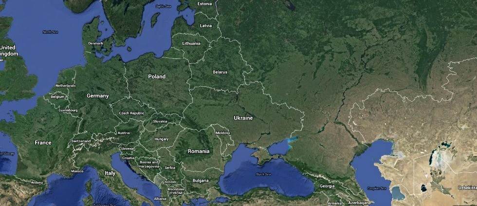 "The situation in Ukraine has become ""a question of principle for the whole world,"" says an organizer of a two-day conference hosted by UAlberta's Canadian Institute of Ukrainian Studies. (Image: Google Maps)"