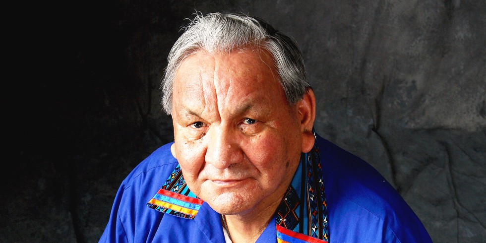 Alex Janvier will be on campus for a week beginning May 25.