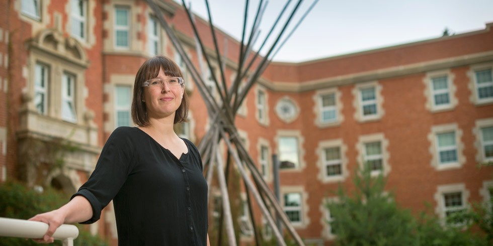 Tanya Harnett, artist and professor in UAlberta's Faculty of Native Studies.