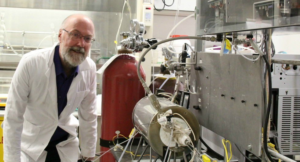 The alchemist of catalysis: chemical engineering professor Robert Hayes in the lab