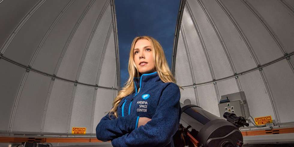 From launching rockets in Norway to helping build Alberta's first-ever space satellite, Kristen Cote has propelled herself toward her dream of reaching the stars. (Photos: Richard Siemens)