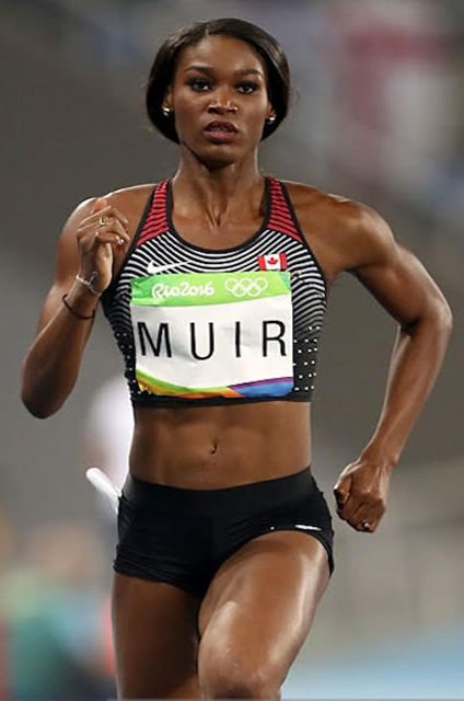 Carline Muir competing at the 2016 Olympics in Rio. (Supplied photo)
