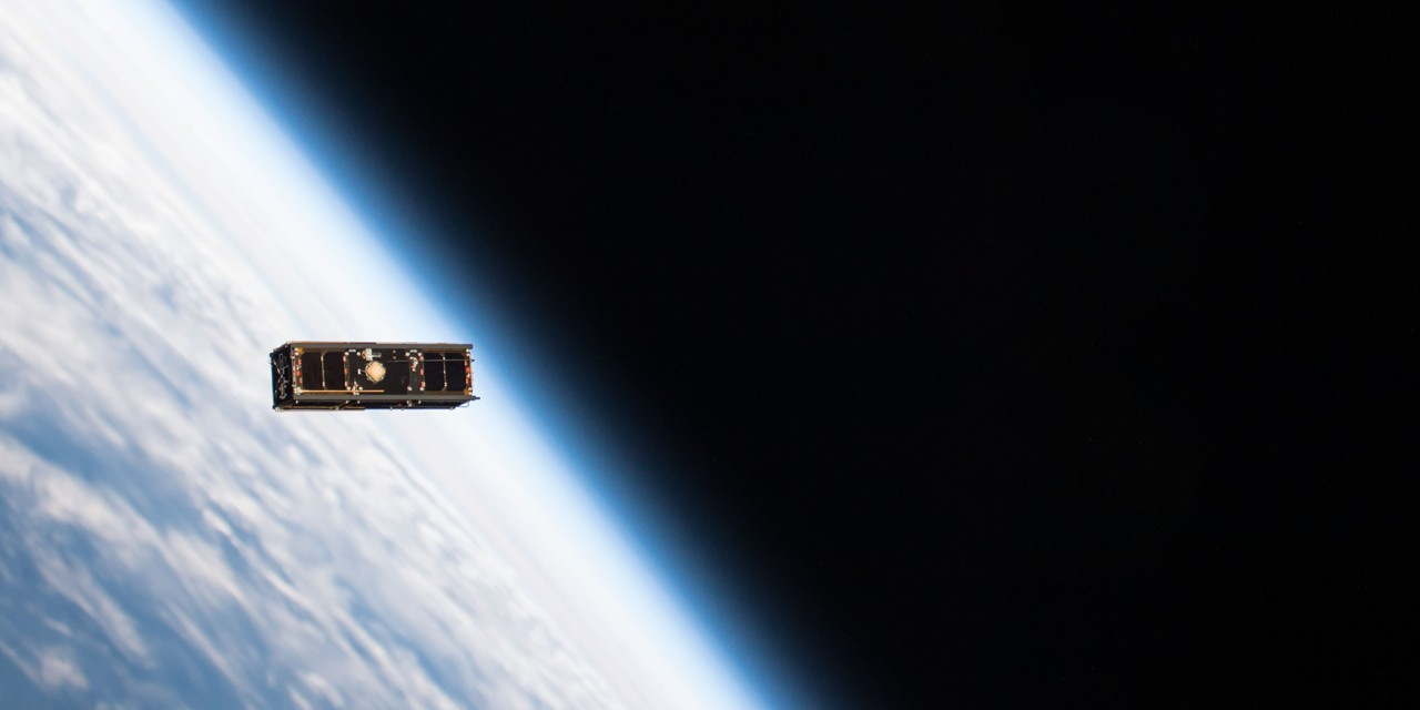 A UAlberta student-led team designed and built Alberta's first satellite thanks to hundreds of donors. Ex-Alta1, which launched from Cape Canaveral, Fla., is creating opportunities for students, supporting global space research and laying the groundwork for an Alberta aerospace industry. (Photo credit: NASA and NanoRacks)