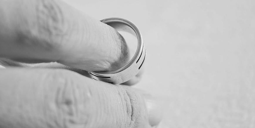 About 30 per cent of the married people surveyed had thought of divorce in the past, but 90 per cent of those said they were glad they were still together.