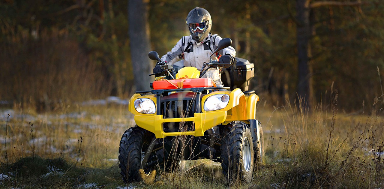 While all-terrain vehicles may look stable, their tipping point is lower than many people expect. (Photo: Shutterstock)