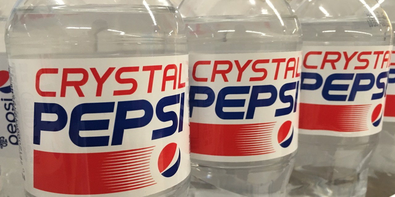 Marketing researchers at the University of Alberta believe that product failures, like that of Crystal Pepsi, stems from a lack of an explanation that helps consumers make sense of another, otherwise extreme, feature. (Photo by Mike Mozart via Flickr, CC by 2.0)