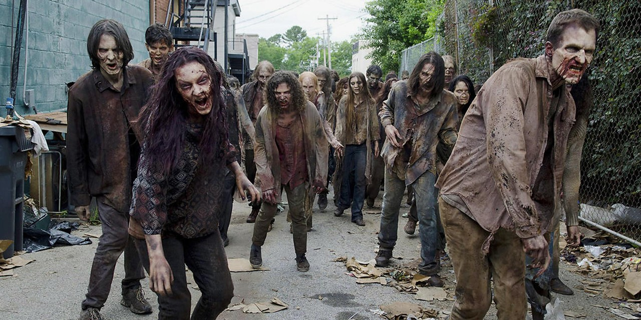 Movies and TV shows like AMC's The Walking Dead play not only on our fears about super-viruses and epidemics, but also on how threats to social stability bring out the worst in humanity, says education professor Jason Wallin.