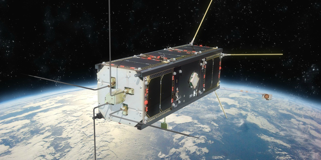 Ex-Alta 1, a cube satellite built by UAlberta students, is the first space satellite ever built in Alberta.