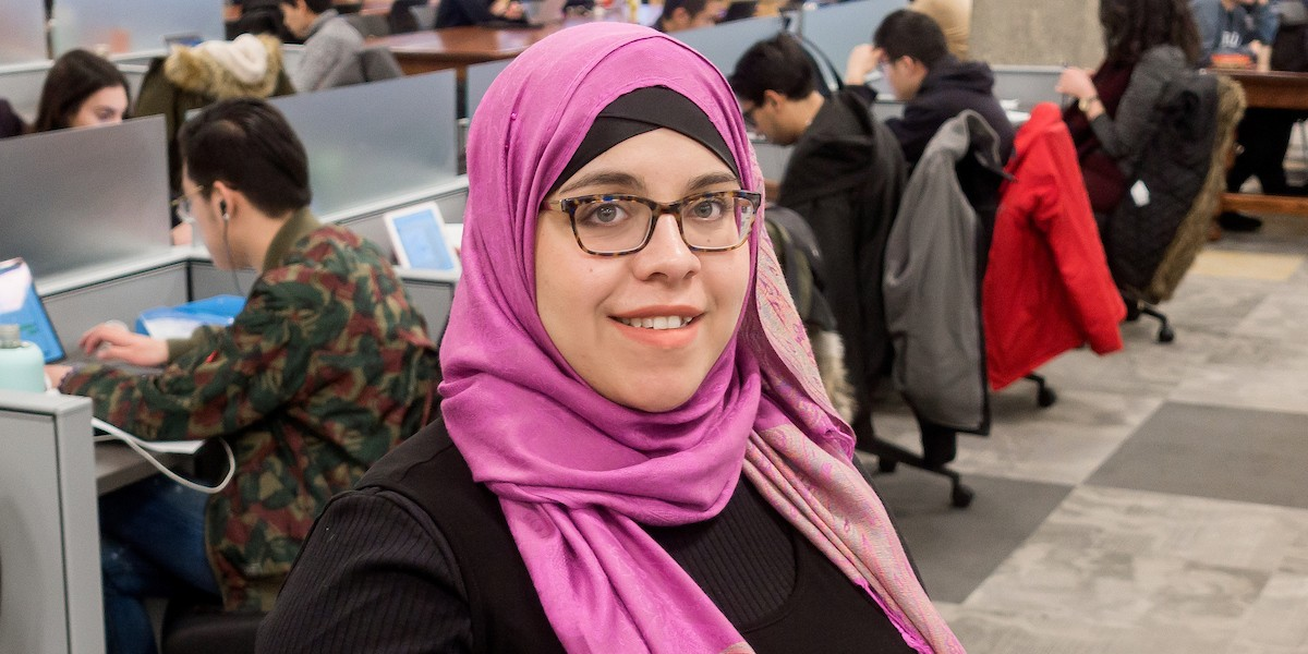 Nakita Valerio brings her sense of social justice and strong feminist principles to everything she does—including practising Islam.