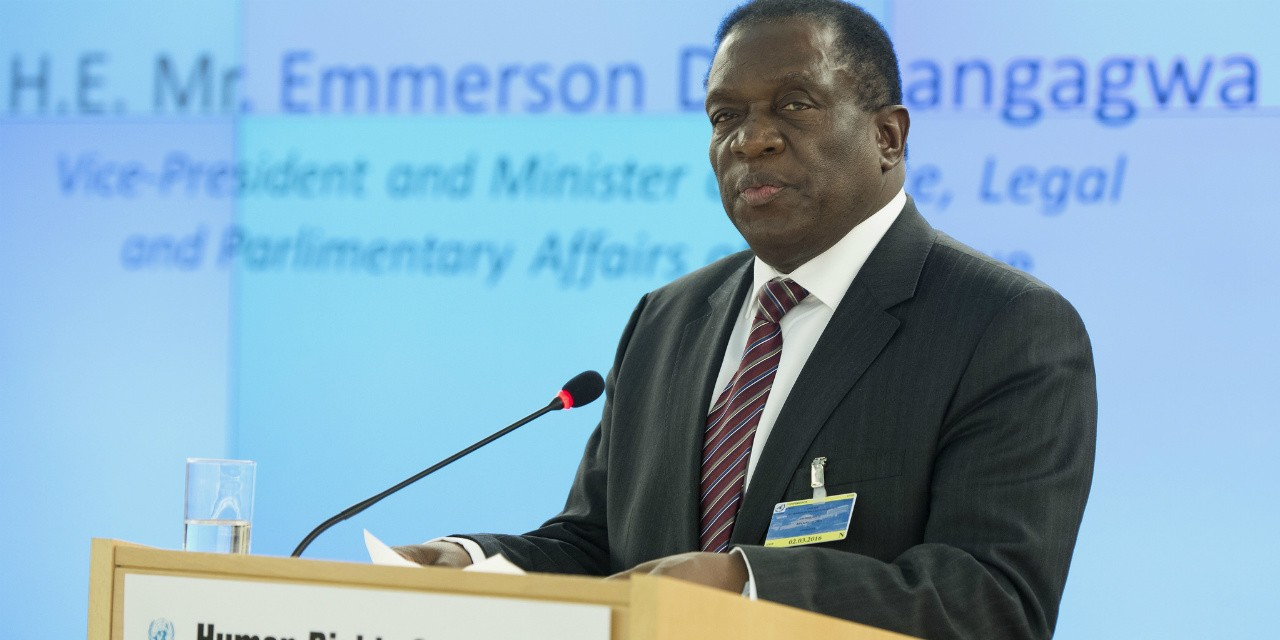 Emmerson Mnangagwa's impending reign as Zimbabwe's next president may not bring the relief the country's beleaguered citizens were hoping for in the wake of Robert Mugabe's resignation. (Photo: Jean-Marc Ferré, UN)