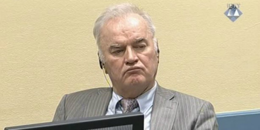 Ratko Mladic was sentenced to life in prison Nov. 22 for genocide, war crimes and crimes against humanity committed by units under his command during the war in Bosnia and Herzegovina in the early 1990s. (Photo: ICTY)