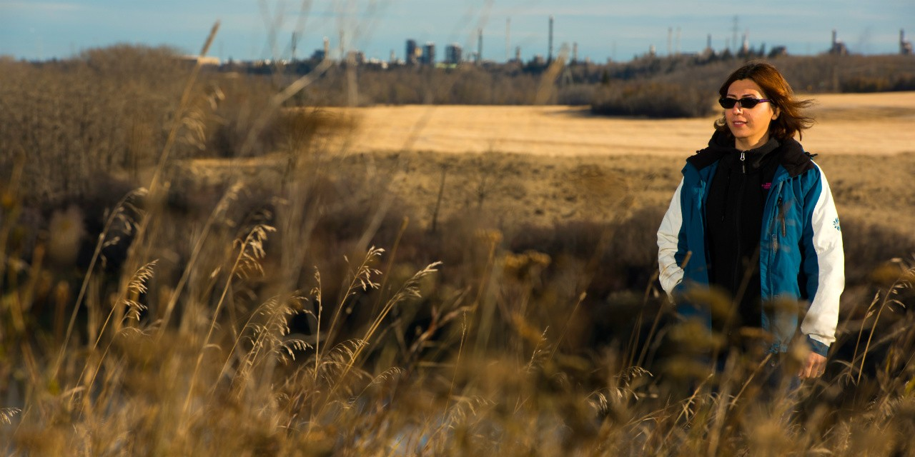 Watershed scientist Monireh Faramarzi and her team looked at how barley will be affected by changing water patterns in Alberta over the next 47 years. (Photo: John Ulan)