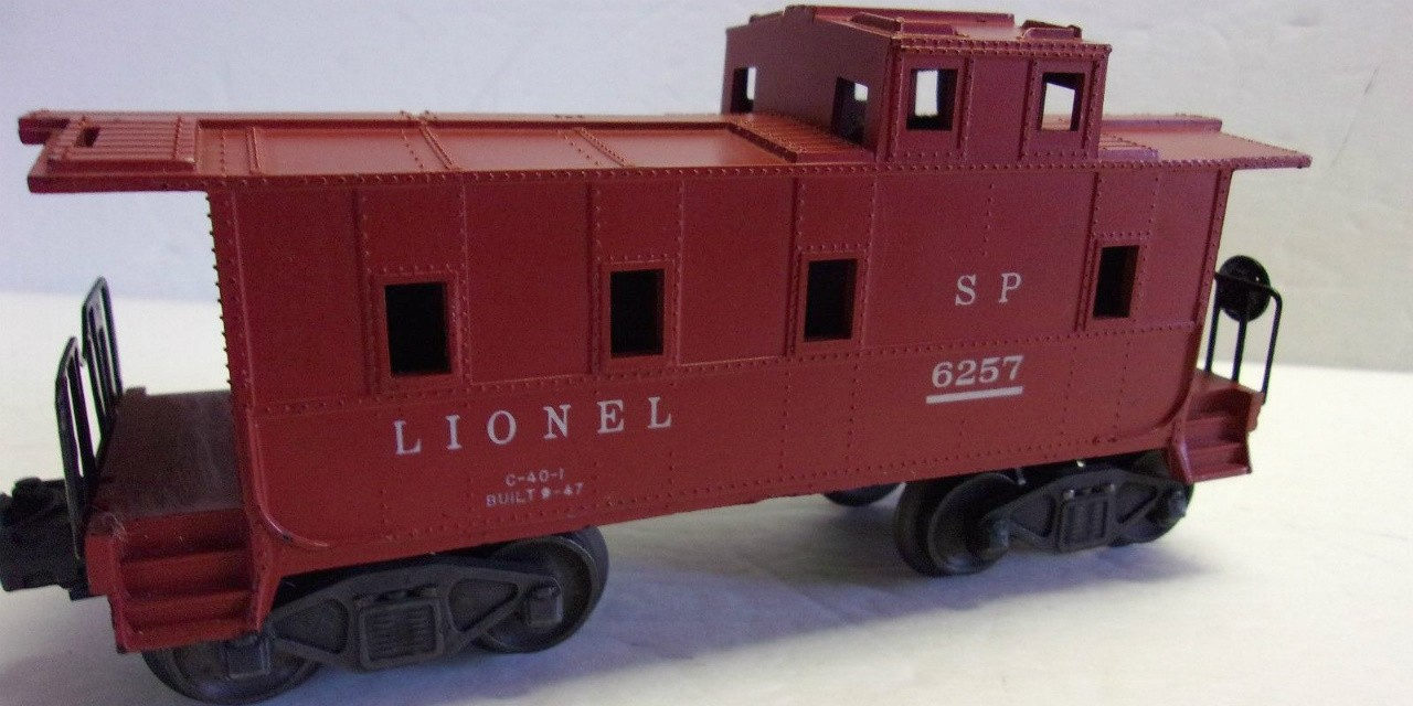 The caboose of a Lionel train set like the one Mike Flannigan and his brother discovered in the grand tradition of sneaking into their Christmas gifts.