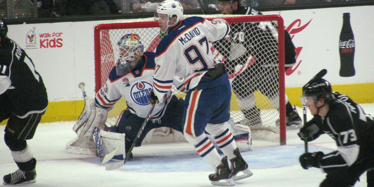 The Edmonton Oilers' playoff prognosis depends more on hockey's basic math than on their current place in the standings, says UAlberta mathematician Terry Gannon. (Photo: Dinur via Flickr, CC BY-NC-ND 2.0)