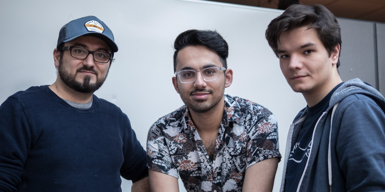 (From left) Nelo creators Qasim Rasi, Hammad Jutt and Pavlo Malynin struck a licensing deal with Universal Studios to tie in their fashion-forward app to the movie 'Pitch Perfect 3.'