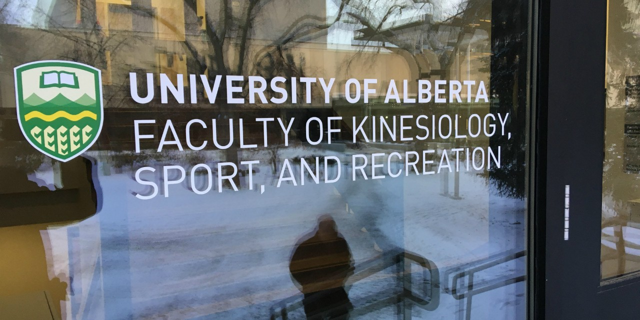 The Faculty of Kinesiology, Sport, and Recreation adopted its new name Jan. 1. (Photo: Michel Proulx)