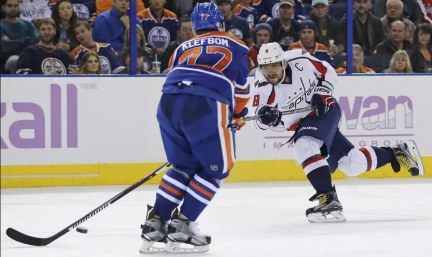 A defence depleted because of injuries to key players like Oscar Klefbom was a big factor in the Edmonton Oilers' losing season this year. (Photo: Perry Nelson, USA Today Sports)