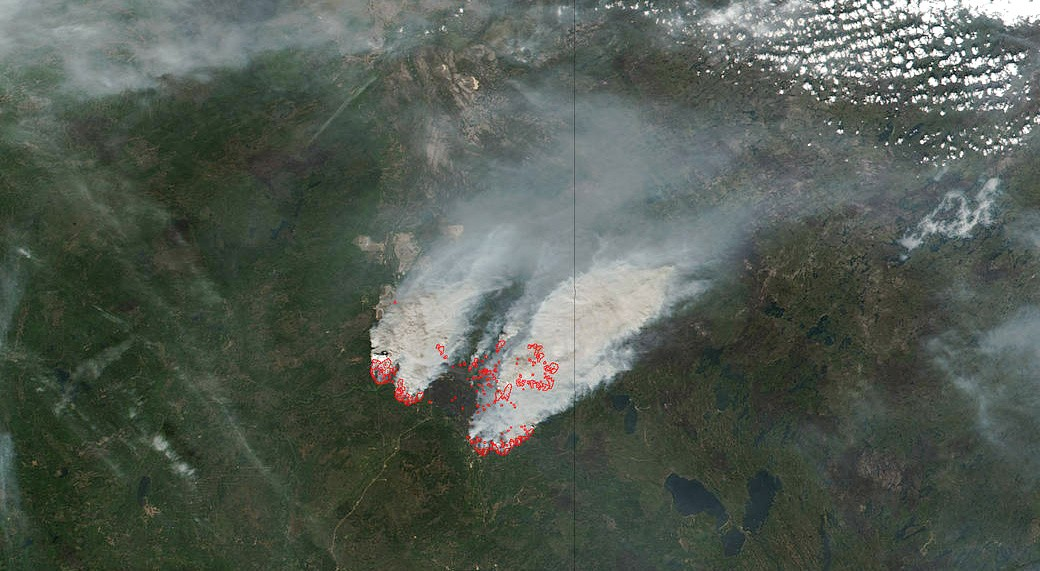 The newly funded Ex-Alta 2 cube satellite will help researchers predict, track and monitor the effects of wildfires like the one that devastated the Fort McMurray area in 2016. (Photo: NASA)
