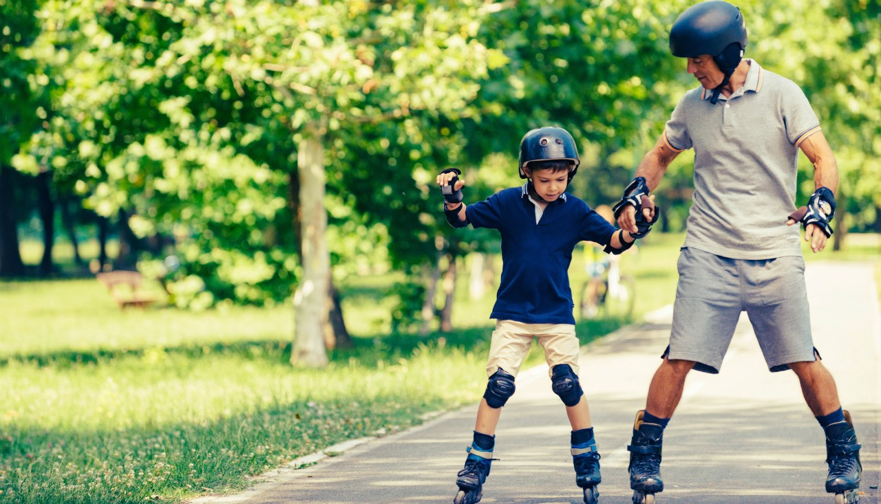 Wearing a protective helmet is a smart idea at any age—and sets an example for kids that could keep them safer for the rest of their lives, says injury prevention expert Don Voaklander.