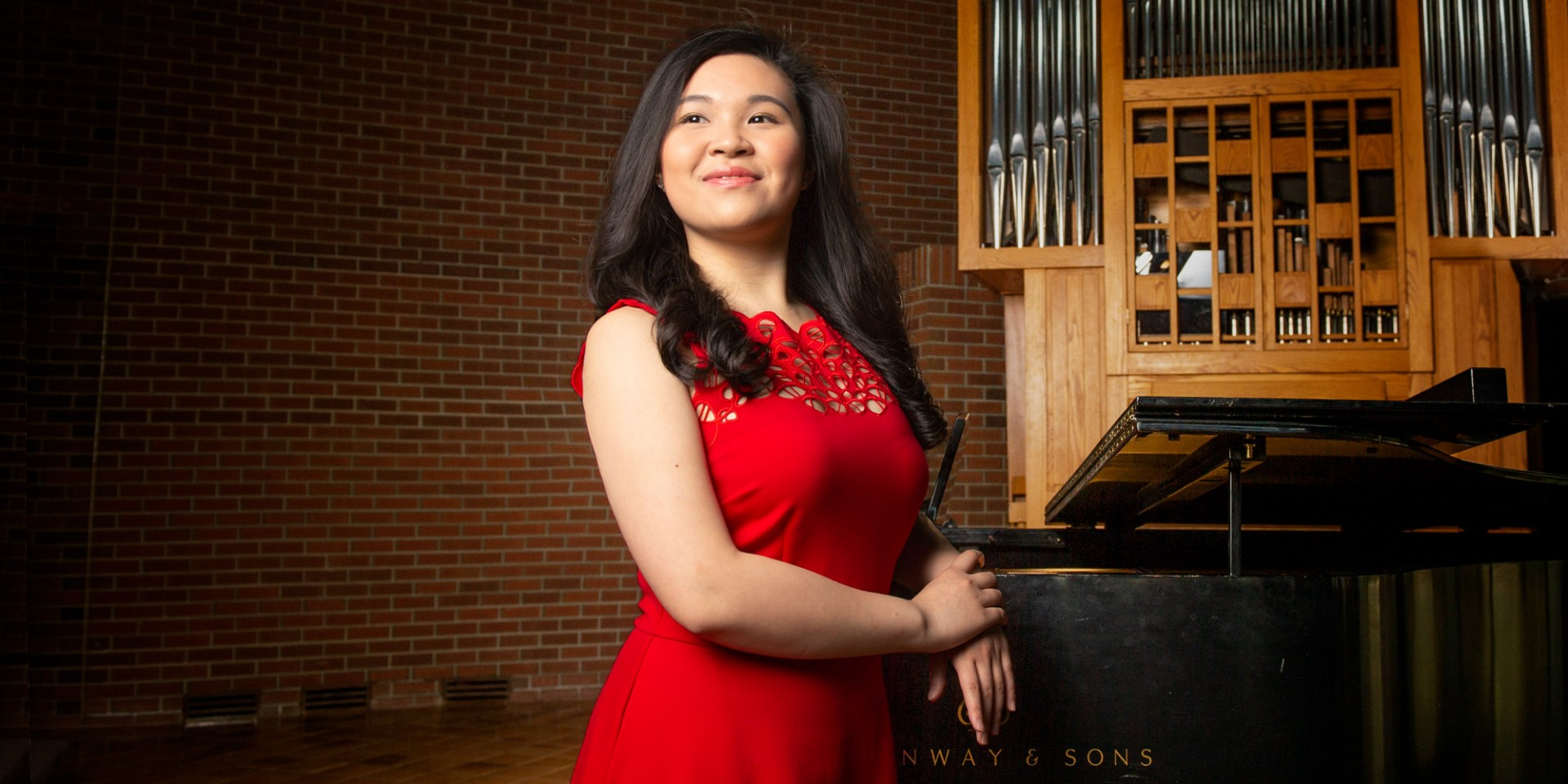 Hilda Lam chose the U of A's Augustana Campus for its exceptional music program and its nurturing community—something her father also appreciated when he was a student there in the early '80s. (Photo: Richard Siemens)