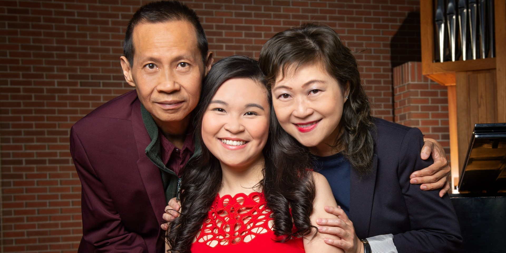 A family legacy will come full circle when Hilda Lam graduates June 3 with a bachelor's degree in vocal performance. (Photo: Richard Siemens)