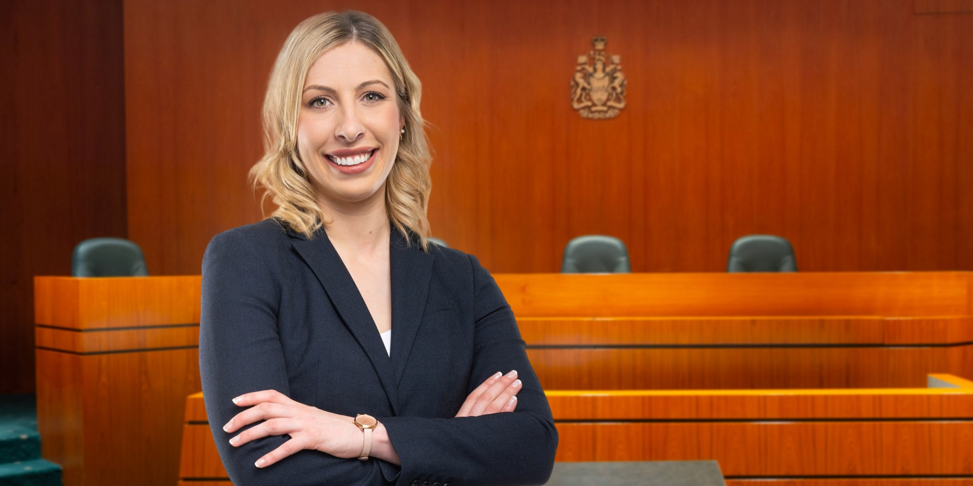 Heather Cave balanced two demanding full-time commitments as a dance teacher and a law student, including being part of the U of A team that won the Gale Cup, Canada's premier moot court championship. (Photo: Richard Siemens)