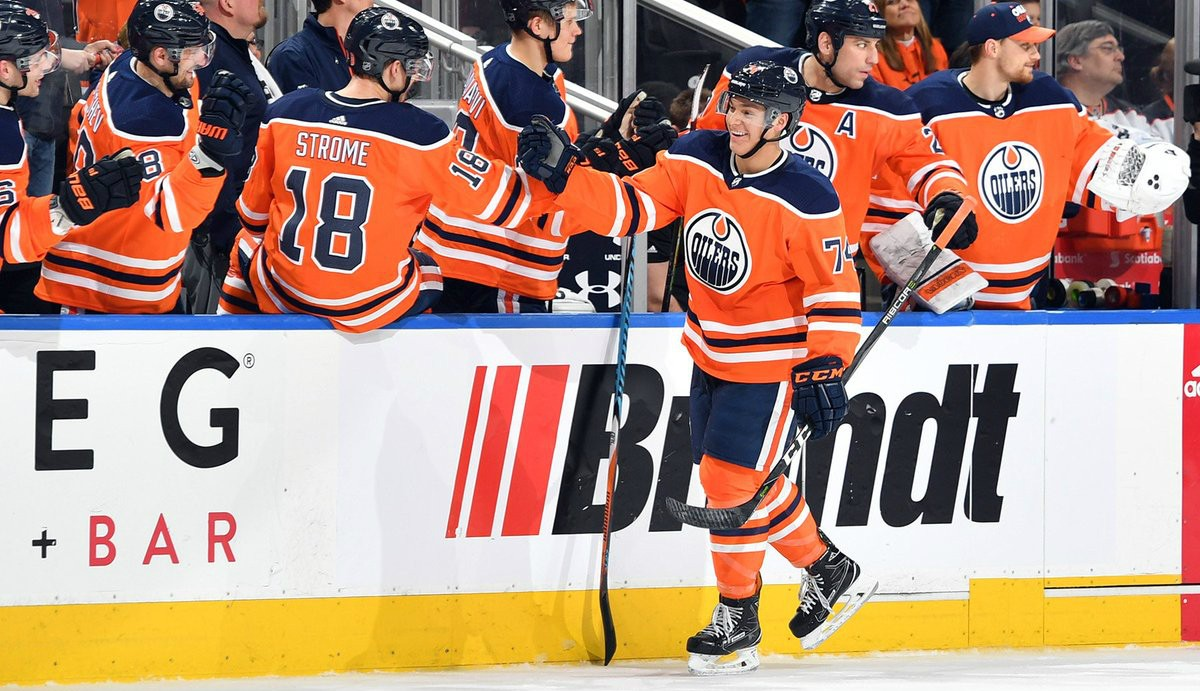 Promising players like the Edmonton Oilers' Ethan Bear need opportunities to play, coaches who are willing to let them play through mistakes and fans who are willing to cut them some slack, argues a U of A educational psychologist. (Photo: Edmonton Oilers via Twitter)